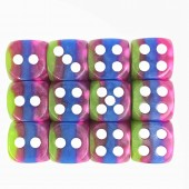 12mm 4-layer pips dice