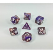 (Copper+blue) Blend color dice set