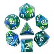 (Blue+Green) Blend color dice