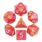(Rose Red+Orange) Blend Color Dice