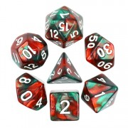 (Green+Red) Blend Color Dice