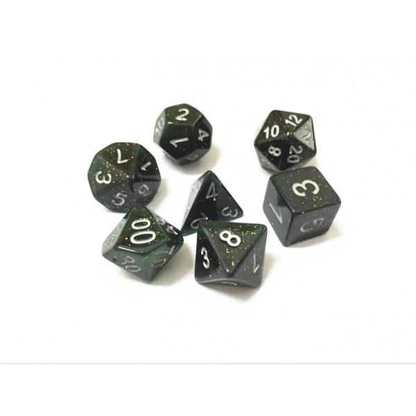Green dice set