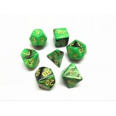(Green+Black)   Blend color dice set