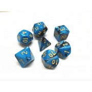 (Blue+black) Blend color dice set