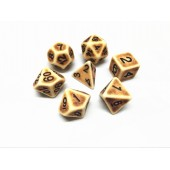 Brown Ancient dice