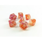 Transparent blend dice set