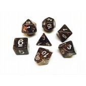 Pink dice set