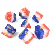3 layer multicolor dice