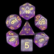 Purple Iridecent Dice
