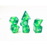 Green translucent layer dice