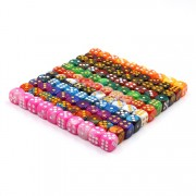 Blend Color Loose Pip Dice(12mm)
