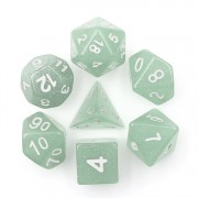 Grey Translucent Dice Set