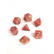 Red Jade dice set