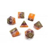 multicolor dice set