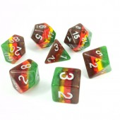 Autumn dice set