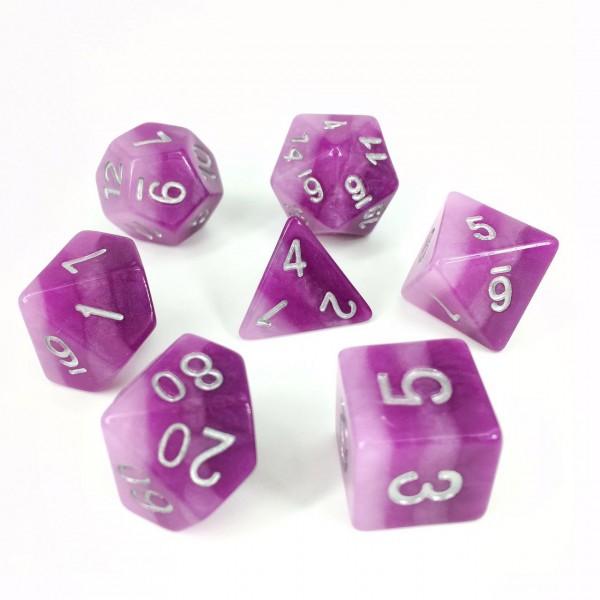 Purple Gradients dice
