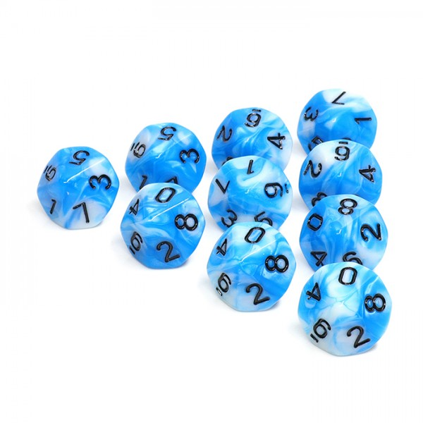 (Blue+White) Blend-D10 sets