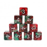 (Red+Green) Blend-D6 sets